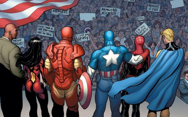 Spider-Man and The Avengers .