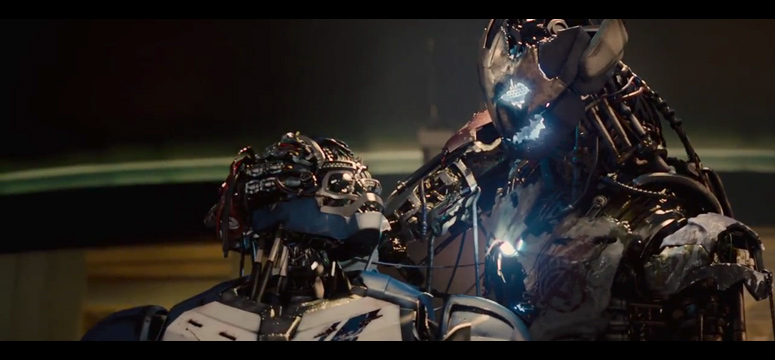 Ultron in the flesh...well you get what I mean.