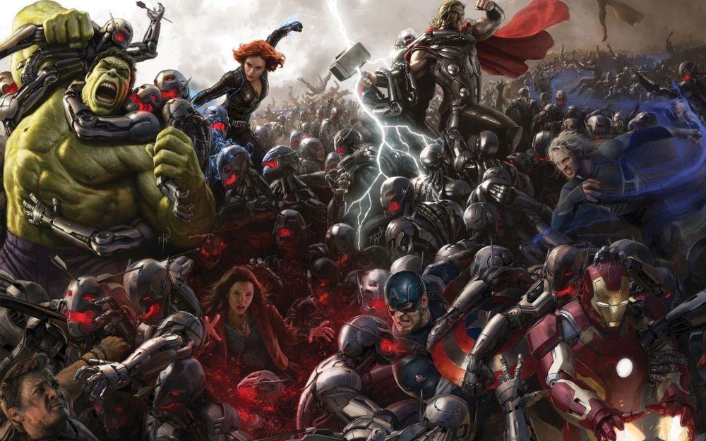 Avengers Assembling to fight Ultron