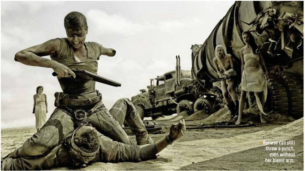 Max and Furiosa's intense and awesome fight scene