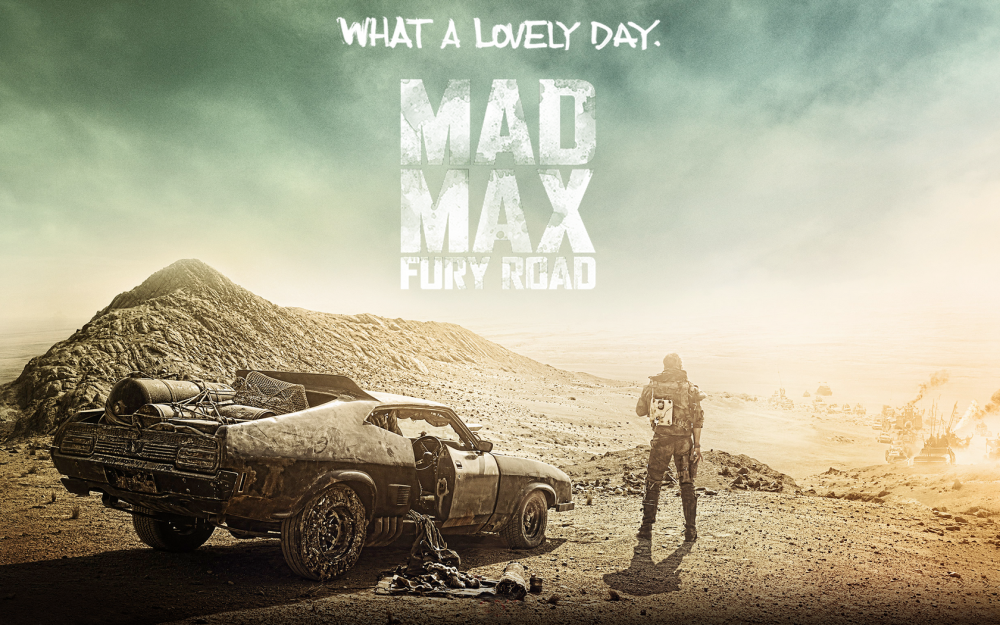 Official Poster For Mad Max Fury Road